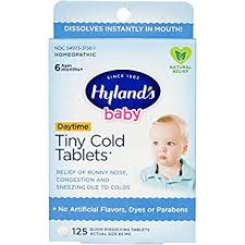 Hyland's Baby Tiny Cold Tablets, Natural Relief of ... - Amazon.com
