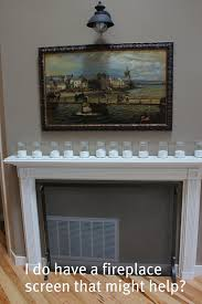 our new house entryway adding old world character the faux fireplace mantel dilemma i have a fireplace screen