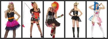 Womenu0027s Pop Star Halloween Costumes