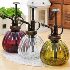 Decorative Spray Bottles Decorative mini watering cans pot spray bottle pressure sprayer 2