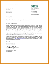 Real Estate Recommendation Letter Sample 10 Example Of Recommendation Letter For Job Proposal Sample
