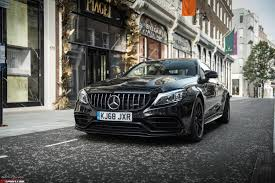 It's time to be bold. Column Mercedes Amg C 63 S Coupe A Dying Breed Gtspirit