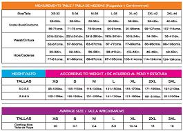 Colombian Waist Trainer Size Chart Ann Michell 2023 3 Row Latex Waist Cincher