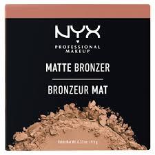 Матовая <b>бронзирующая</b> пудра <b>NYX Professional Makeup</b> Matte ...