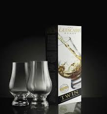 the glencairn crystal whiskey tasting glass twin pack set of 2 new