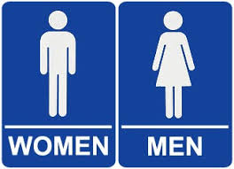 bathrooms signs. Female Restroom Sign - Clipart Library Bathrooms Signs