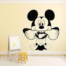 zen graphics mickey mouse wall art
