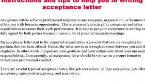 How To Write An Acceptance Letter - Video Dailymotion