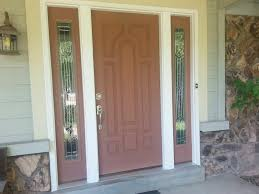 white single front doors. Magnificent Fiberglass Front Doors For Porch Decorating Design Ideas : Fetching Decoration With White Single W