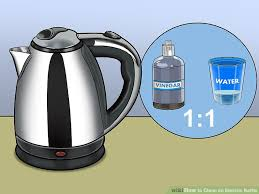 image titled clean an electric kettle step 1
