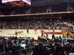 Galen Center Section 118 Home Of Usc Trojans