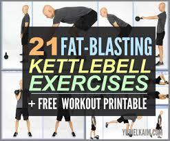 Printable Kettlebell Workout Chart Best Kettlebell Full Body Workout Routine For Beginners