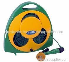50ft flat garden hose pipe set with