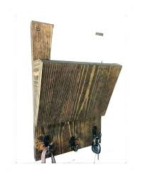 wooden wall mail organizer letter holder wall mount letter holder wall wall letter bin rustic mail organizer and key rack letter holder wall wall mounted