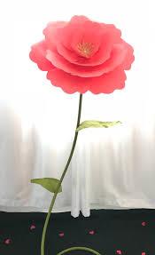 Paper Flower Stems Giant Flower Stems Large Flower Stem Stem For Giant Paper Flower