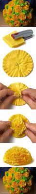 Crepe Paper Flower Balls Diy Flower Ball In Easiest Way