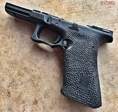 custom glock stippling