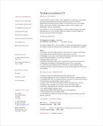 Resume Template Architect Resume Samples Free Career Resume Template