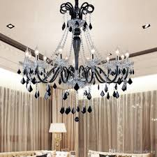 black crystal chandeliers led transpa crystal light modern black chandelier crystal pendants modern dining room bedroom led chandelier chandelier shade