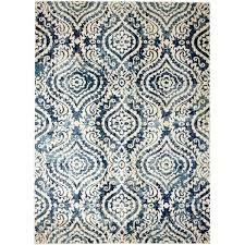 blue brown area rug bungalow rose royal trellis cream blue area rug reviews with and idea blue brown area rug