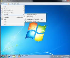 how to install vmware install vmware tools in windows vmware player