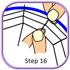 Dream Catcher Patterns Step By Step Spider Web Dreamcatcher Tutorial Part 100 32