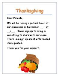 thanksgiving potluck sign up sheet potluck sign up teaching resources teachers pay teachers