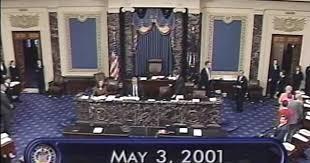 Video 3 C span Session org Senate May 2001 Ipwn1R8q