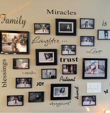 awesome family frames wall decor home design ideas tree with frame