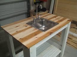 my simple outdoor sink