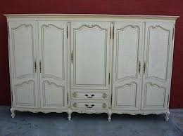 white wood wardrobe armoire shabby chic bedroom. Armoire Closet Wardrobe Bedroom French Antique Cabinet Shabby Chic From Ikea White Wood T