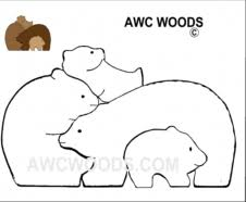 Free Printable Scroll Saw Patterns Cool Scroll Saw Patterns Free And For Purchase Bear Woods Supply