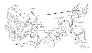 23731 ja00b genuine nissan 23731ja00b crankshaft posi 2010 nissan altima coupe engine control module diagram a 001