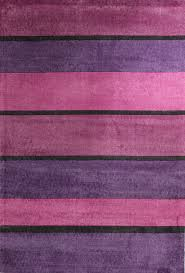 pink and black rug. Modern Purple Pink Black Bands Rug - Floorsome And H