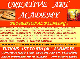 Summer Camp Pamplets Art And Craft Classes In Central Delhi Art And Craft Classes In
