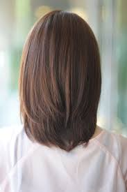 ナチュラルストレートミディ ヘアカタログ Medium Length Hairstyles