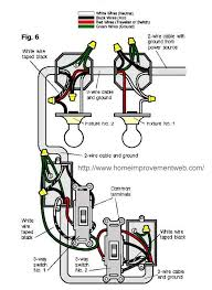 27 best electric images on pinterest electrical wiring How To Wire Two Separate Switches Lights Using The Same Power Source the trick i finally learned with regards to two switch circuits (like this one) the \