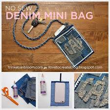 diy gifts for teens no sew denim mini bag cool ideas for girls and