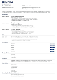 Resume Of A Graphic Designer Graphic Design Resume Sample Guide 20 Examples