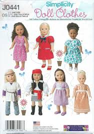 18 Doll Clothes Patterns New Design Inspiration