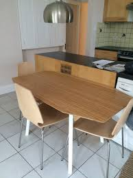 white chairs ikea ikea ps 2012 easy. Bamboo Wood Furniture. Brand Spanking New Ikea Ps 2012 Drop Leaf Dining Table White Chairs Easy N