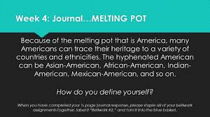 week melting pot jpg essay about immigration assimilation history