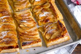easy apple tart 簡単アップルタルト just