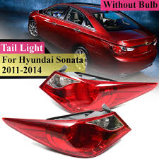 2012 Hyundai Sonata Rear Brake Light Us 33 99 15 Off Tail Light For Hyundai Sonata 2011 2012 2013 2014 Taillight Rear Reverse Brake Fog Lamp Accessories No Bulb With Wire Side In Car