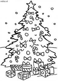 Kleurplaat Kerstboom 3 De Mooiste Kleurplaten Militonl