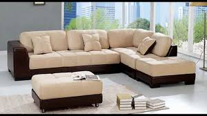 List of Best Sectional Sofa Brands | HomesFeed unique style sectional sofa  set in two tones water-based epoxy paint floor large abstract