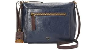 fossil blue leather purse best image ccdbb