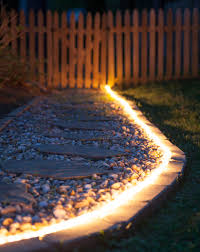 What To Do With Rope Lights Diy Outdoor Lighting The Secret Life Of Rope Light