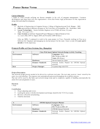 Resume Templates For Mba Freshers Resume For Your Job Application