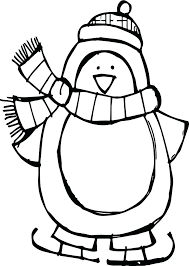 Penguin Coloring Pages For Preschoolers At Getcoloringscom Free